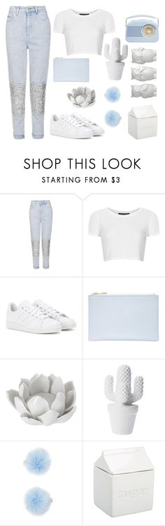 """Baby Tears"" by flowerclouds ❤ liked on Polyvore featuring Topshop, adidas, Whistles, Pavilion Broadway, Forever 21 and BIA Cordon Bleu"