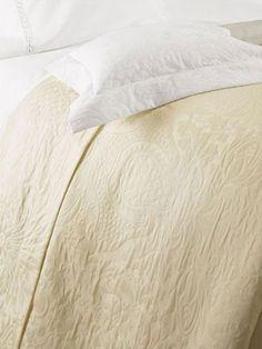 Sferra GENEVA Ivory Standard Sham Egyptian Cotton Matlasea Below Wholesale #SFERRA