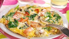Best Breakfast for Weight Loss? HIGH PROTEIN. Ham and Mushroom Omelet.