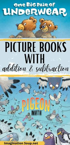 Addition And Subtraction Practice, Teaching Addition, Love Math, Fun Math, Best Children Books, Childrens Books, Writing Activities, Preschool Activities, Rhyming Poems
