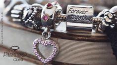 Forever Together  Rendi unico il tuo #SanValentino scegliendo #Pandora #Bracciali #Charm #Love #Donna