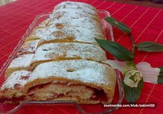 Slatko-kiselkasta, mekana i sočna, mirisna i topla, to je to. Old Fashioned Nut Roll Recipe, Croatian Recipes, Rolls Recipe, Pastries, Bread, Cooking, Sweet, Food, Basket