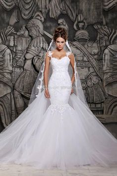 Vestidos De Novia 2015 Backless Mermaid Wedding Dresses With Detachable Chapel Train Beaded Lace Elegant Bridal Wedding Gowns Hassan Mazeh Sexy Wedding Gowns Silver Wedding Dress From Alinabridal, $147.94| Dhgate.Com