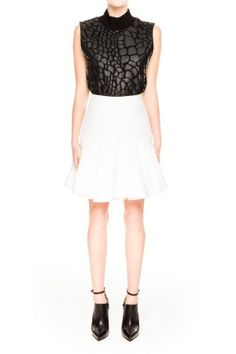 Cameo | Why Ask Skirt | White | Shop Now | BNKR