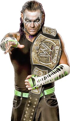 WWE Champion Jeff Hardy