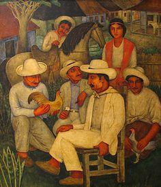 """Eduardo Abela (Cuba) """"Guajiros"""""""