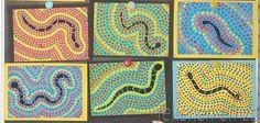 Serps d colors Craft Activities For Kids, Preschool Crafts, Crafts For Kids, Arts And Crafts, School Art Projects, Art School, Creative Class, Arts Ed, Aboriginal Art