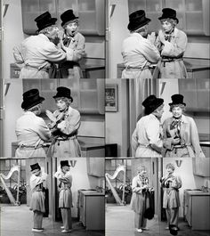 "Lucy plays Harpo Marx. ""I Love Lucy,"" Season 4, airs May 9, 1955"