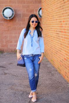 A Denim Kinda Weekend | My Rose Colored Shades
