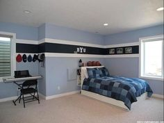 Kids Room Paint Ideas Fascinating Paint Color Ideas For A Kids Bedroom  The Twotone Red And Gray 2017