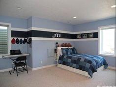 inspiring bedroom stripe paint ideas boys room idea striped paint - Bedroom Wall Designs For Boys