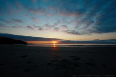 Sunset Day 01 - Cape Scott Trail Guide by Lonny Barr