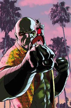 """Guardianes de la Galaxia v2, 35Un cómic ligado a """"Secret Wars"""". Encaramos los episodios finales de Guardians Team-Up, con una doble entrega en la que Drax y El Hombre Hormiga forman un inesperado equipo y la pareja formada por Groot y Estela Plateada comparte tabla."""