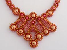 Sunrise Necklace by KathyKingJewelryShop on Etsy
