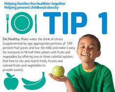 September is National Childhood Obesity Awareness Month, and as a leading nonprofit dedicated to strengthening community through youth development, healthy living and social responsibility the FAMILY YMCA OF THE GLENS FALLS AREA offers the following tip to help families incorporate regular physical activity and healthy eating into their lives.