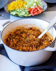 Best Pasta Recipes For Dinner Beef Mom Ideas Best Pasta Recipes, Healthy Meat Recipes, Pasta Dinner Recipes, Spinach Recipes, Healthy Pastas, Beef Recipes, Vegetarian Recipes, Chicken Recipes, Taco Dinner
