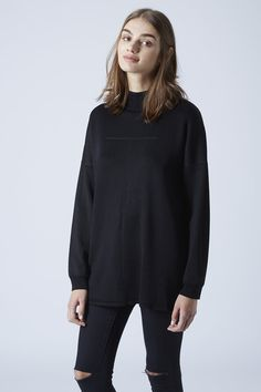 Funnel Neck Tunic Top @gtl_clothing #getthelook http://gtl.clothing