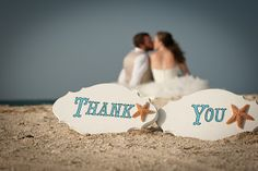 DIY thank you photo to include in thank you cards.