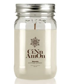 Another great find on #zulily! Cinnamon Mason Jar Series Candle #zulilyfinds