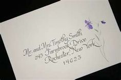 calligraphy....i want to learn to do watercolor flowers