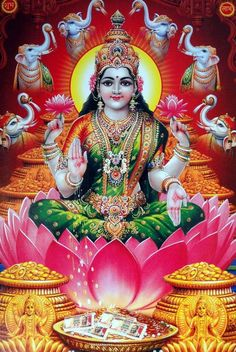 Lakshmi is seen in two forms, Bhudevi and Sridevi, both at the sides of Sri Venkateshwara or Vishnu. Shiva Parvati Images, Lakshmi Images, Shiva Shakti, Shiva Hindu, Durga Images, Divine Goddess, Kali Goddess, All God Images, Navratri Puja