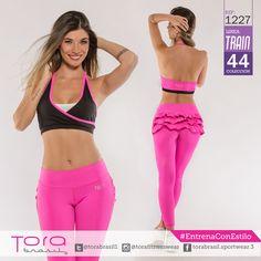 REF:1227  Leggings y top, unitalla #EntrenaConEstilo #FitnessFashion #Leggings #ToraBrasil #modadeportiva #gymwear
