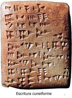 Escritura pictográfica - cuneiforme