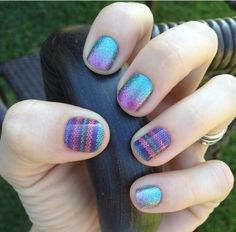 Jamberry Nails; Brighten up the autumn season with Stitched Away and Carnival! See the whole catalogue & order online: http://marialindquist.jamberrynails.net