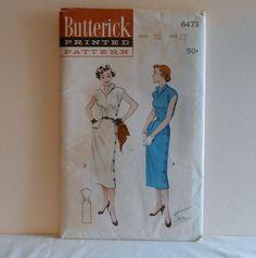 Side Button Sheath Dress Womens Size 12 UNCUT by filecutter, $10.00
