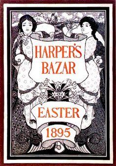 Maxfield Parrish - Harper's Bazar Easter 1895