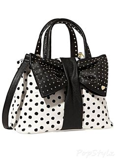 Betsey Johnson Bow Tie Handbag. If the bow was smaller it would look better.