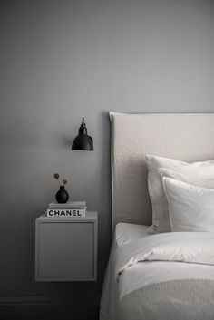 An all grey apartment that's full of style