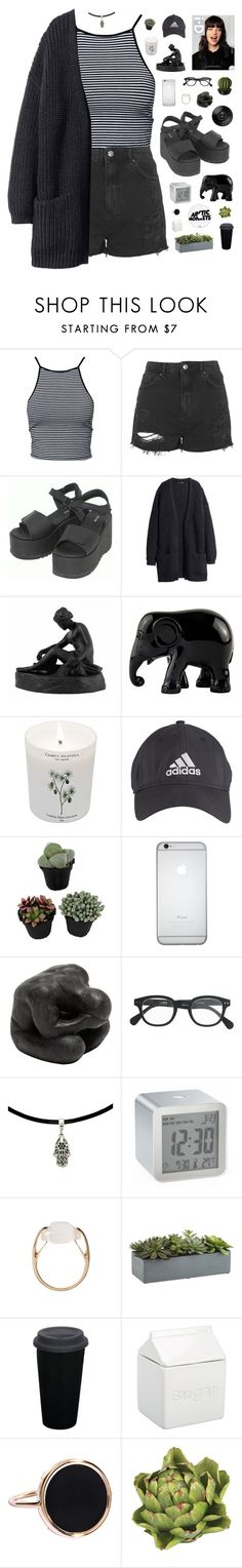 """""""Claudia"""" by tamy55 ❤ liked on Polyvore featuring Estradeur, Topshop, Dr. Martens, Wedgwood, The Elephant Family, Carriere, adidas, Oly, J.Crew and LEXON"""