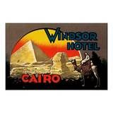 Vintage Cairo Egypt Travel Poster Art from Zazzle.com