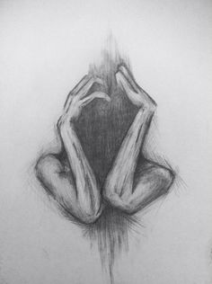 drawing pencil art 1321 kunstideen - The world's most private search engine Creepy Drawings, Dark Art Drawings, Pencil Art Drawings, Drawing Sketches, Cool Drawings, Drawing Ideas, Drawing Tips, Heart Drawings, Drawing Drawing