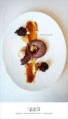 Four Seasons Hong Kong chocolate lava