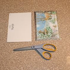 Cut the Card in Half to Make a Box Out of a Card