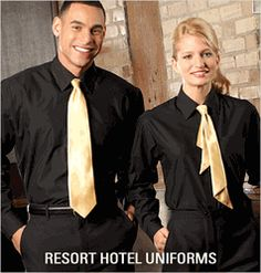 Hotel front desk uniform 8