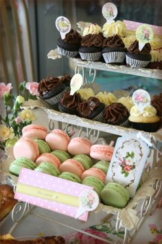 Indulgent cupcakes and macarons - Belle's Patisserie