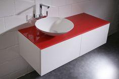 badezimmermöbel | Badezimmermöbel mit Aufsatzbecken