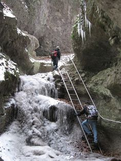 Rám-szakadék, The Gorge of the River Rám makes for a pretty challenging walk at any time of the year. Heart Of Europe, Central Europe, Budapest Hungary, Time Of The Year, Plaza, Homeland, Wonders Of The World, Adventure Travel, Beautiful Places