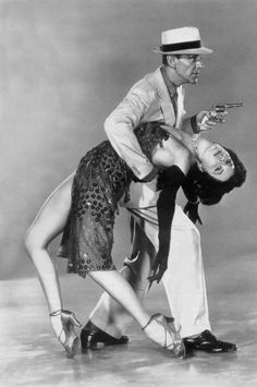 Fred Astaire and Cyd Charisse. Cyd Charisse was the first classic Hollywood dancer, who inspired me. Oh to have her legs!!!
