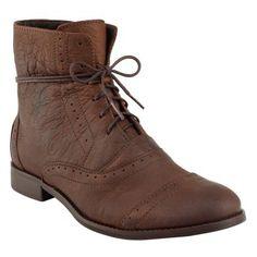 Bota de couro shoestock