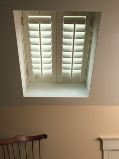 how to cover a skylight even skylights can be covered with plantation shutters skylight cover home depot Diy Skylight, Skylight Covering, Skylight Shade, Skylight Blinds, Skylight Window, Skylights, Attic Rooms, Attic Loft, Home Upgrades