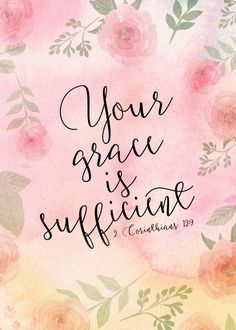 Your grace is suffic