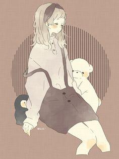 Kawaii Art, Kawaii Anime Girl, Anime Art Girl, Kawaii Drawings, Cute Drawings, Art And Illustration, Anime Style, Storyboard, Aesthetic Anime