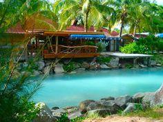Castaways Bar in Jolly Harbour, Antigua #antigua