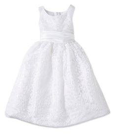 $50.00 - Jayne Copeland 2T-6X Lace-Overlay Dress