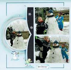 Galapagos Unique Photo, Hobbies And Crafts, Scrapbooking Layouts, Boy Or Girl, Templates, Baseball Cards, European Style, Snow, Girls