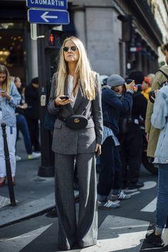 El Street Style nos trae las nuevas formas de reinventar el traje sastre - ElleSpain